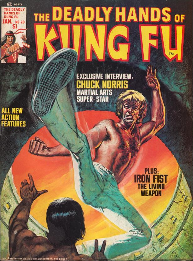 Deadly Hands of Kung Fu (1974) 20-A by Marvel