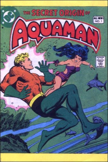 Secret Origin of Aquaman 1-A by DC
