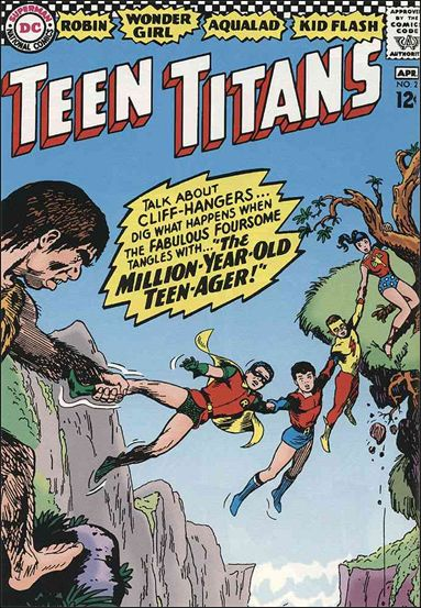 Teen Titans (1966) 2-A by DC