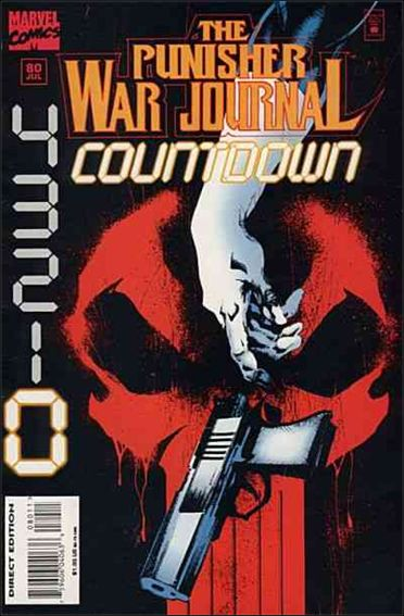 Punisher War Journal (1988) 80-A by Marvel