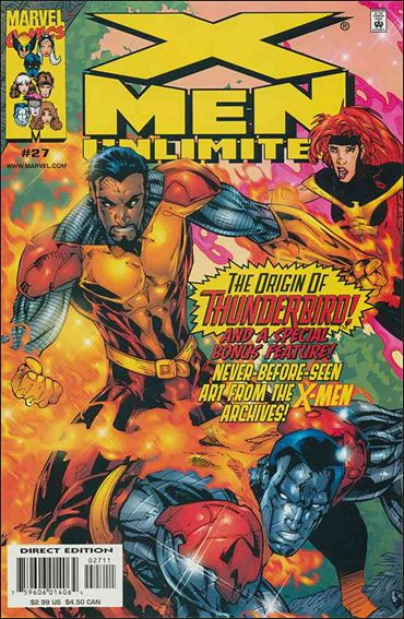 X-Men Unlimited (1993) 27-A by Marvel