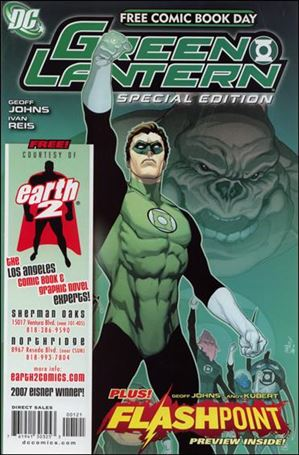 FCBD 2011 Green Lantern Flashpoint Special Edition 1-E