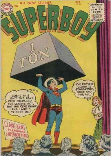 Superboy (1949) 44-A by DC