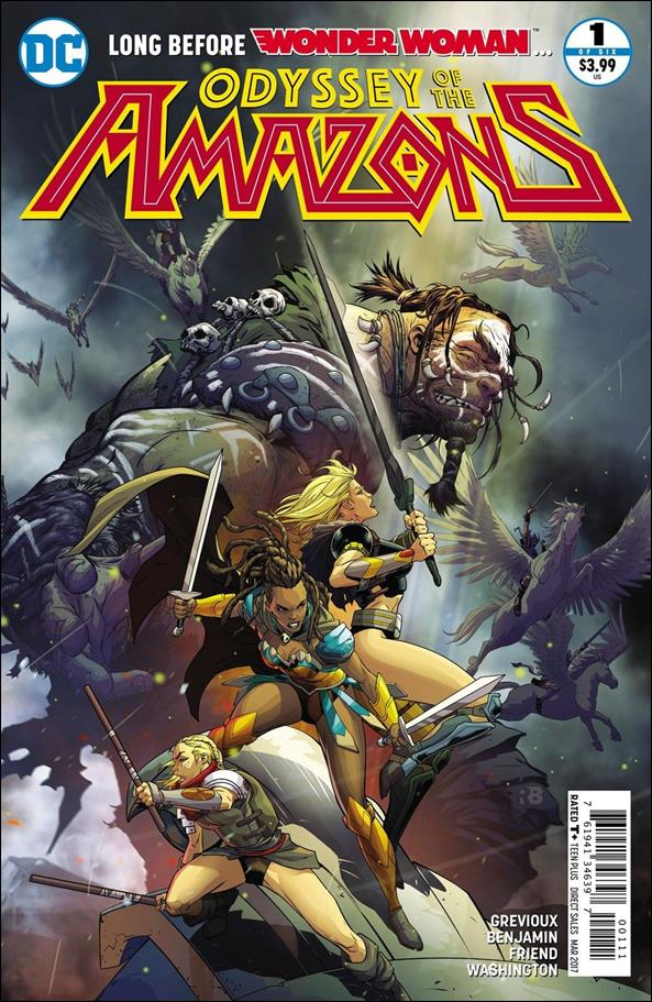 Odyssey of the Amazons 1-A by DC