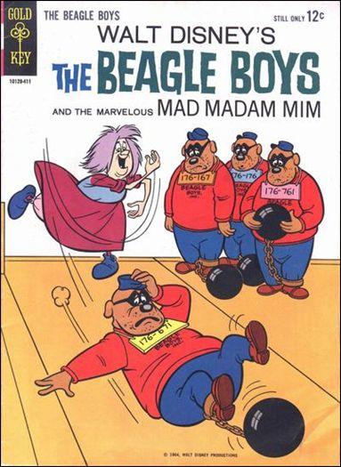 Walt Disney The Beagle Boys 1-A by Gold Key