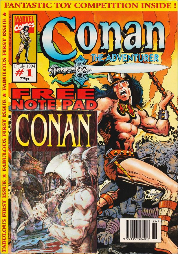 Conan the Adventurer (UK) 1-A by Marvel UK