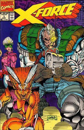 X-Force (1991) 1-F