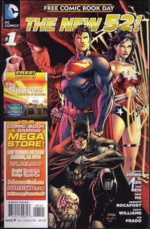 DC Comics - The New 52 FCBD Special Edition 1-G