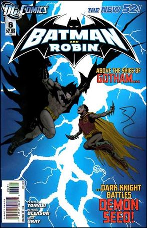 Batman and Robin (2011) 6-A