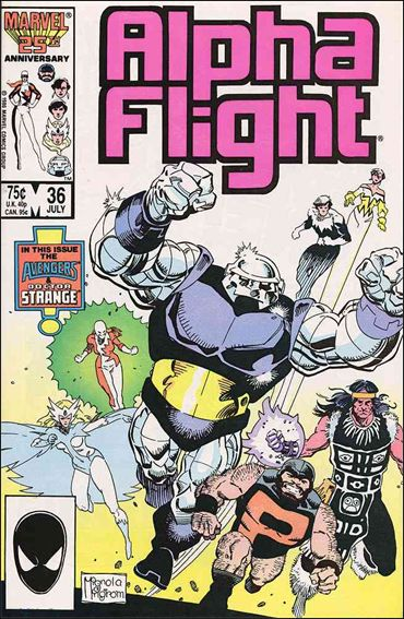 Alpha Flight (1983) 36-A by Marvel