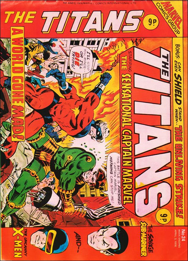 Titans (UK) 24-A by Marvel UK