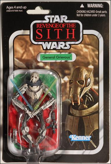 "Star Wars: Vintage Collection 3 3/4"" Figures General Grievous by Hasbro"
