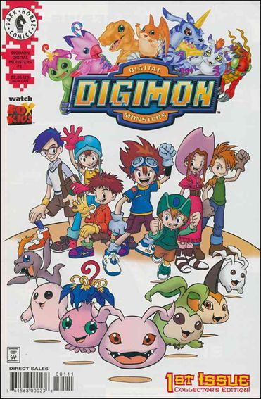 Digimon Digital Monsters 1-A by Dark Horse