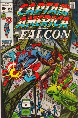 Captain America (1968) 138-A
