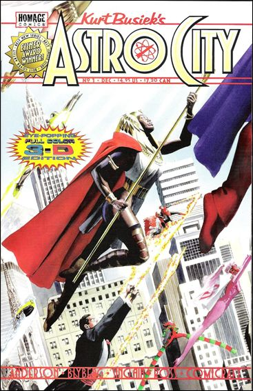 Kurt Busiek's Astro City (1996) 1-D by Homage Comics