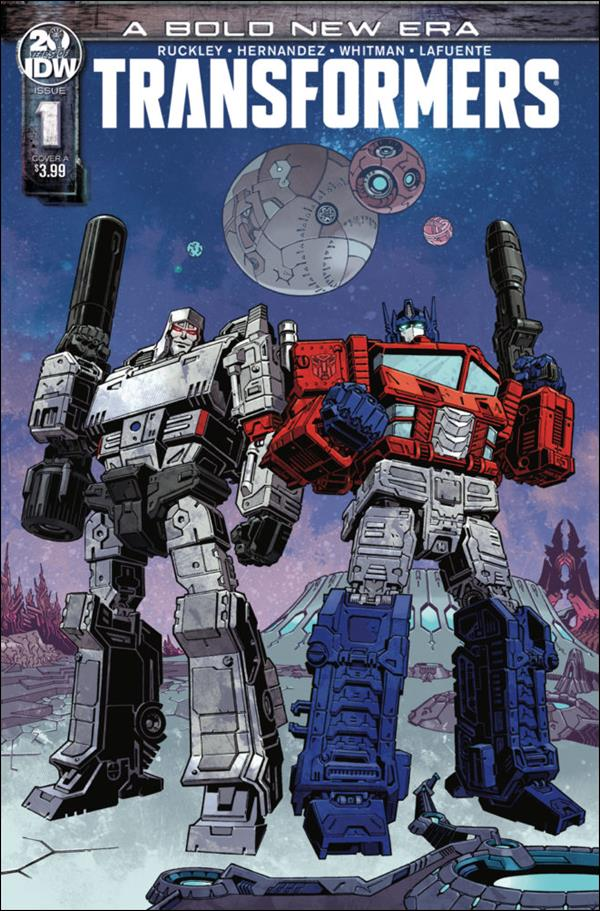 Transformers (2019) 1-A by IDW