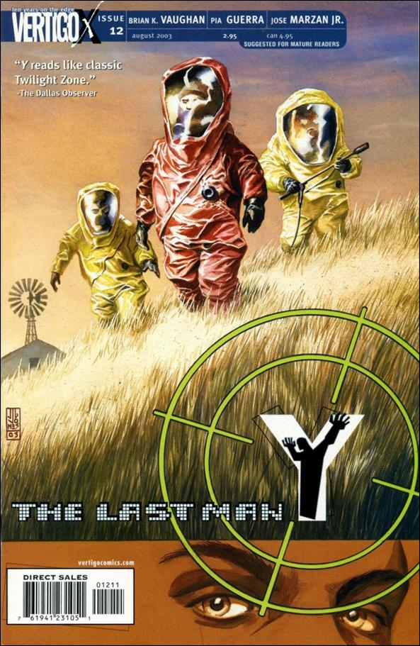 Y: The Last Man 12-A by Vertigo