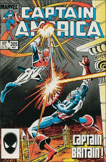 Captain America (1968) 305-A by Marvel
