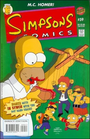 Simpsons Comics 59-A by Bongo