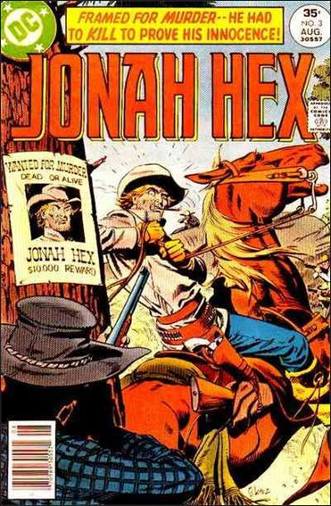 Jonah Hex (1977) 3-A by DC