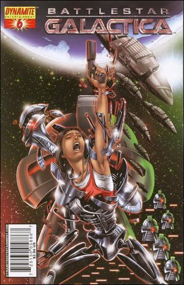 Battlestar Galactica (2006) 6-D by Dynamite Entertainment