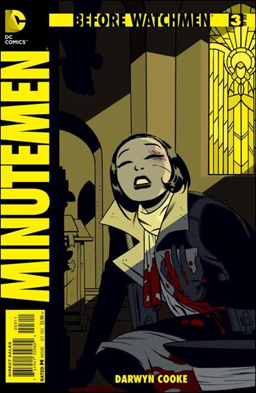 Before Watchmen: Minutemen 3-A by DC