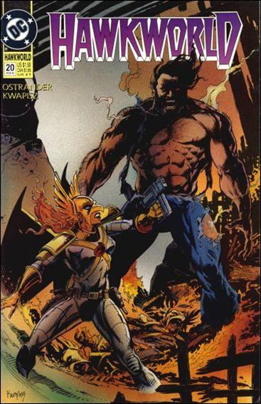 Hawkworld (1990) 20-A by DC