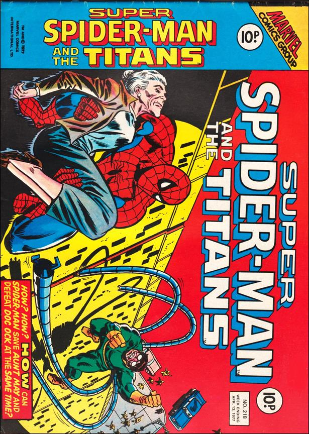 Spider-Man: Comics Weekly (UK) 218-A by Marvel UK