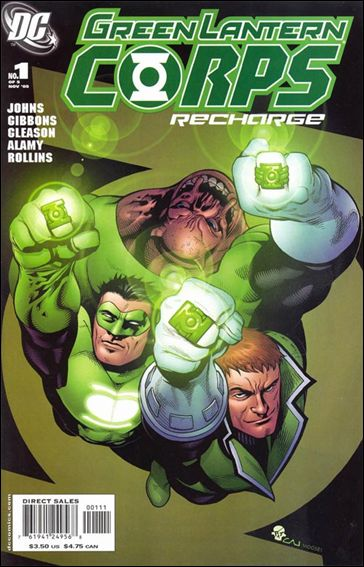 Green Lantern Corps: Recharge 1-A by DC