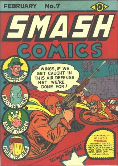 Smash Comics (1939) 7-A by Quality