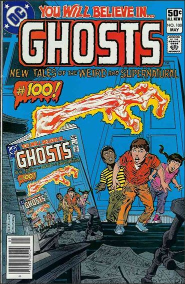 Ghosts (1971) 100-A by DC