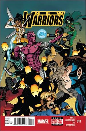 New Warriors (2014) 11-A