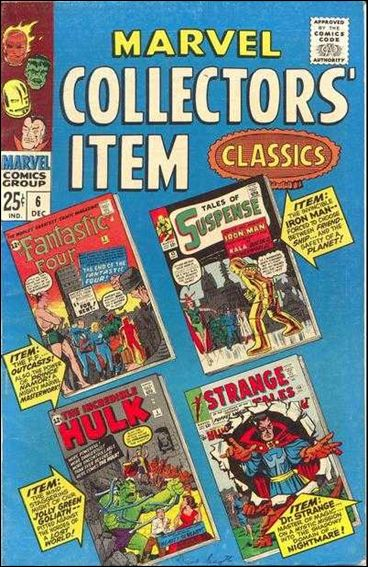 Marvel Collectors' Item Classics 6-A by Marvel