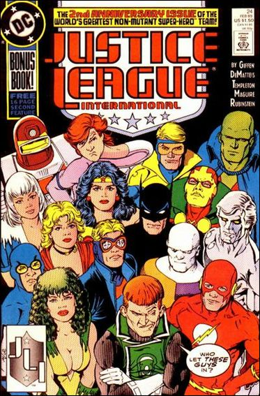 Justice League International (1987) 24-A by DC