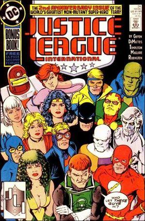 Justice League International (1987) 24-A