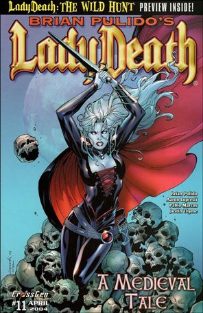 Brian Pulido's Lady Death: A Medieval Tale 12-A
