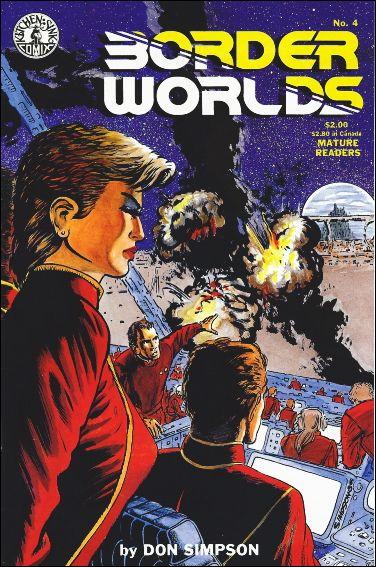 Border Worlds (1986) 4-A by Kitchen Sink