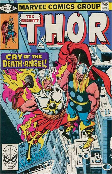 Thor (1966) 305-A by Marvel