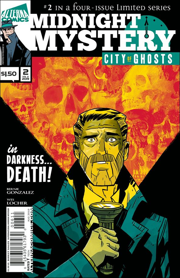 Midnight Mystery: City of Ghosts 2-A by Alterna Comics