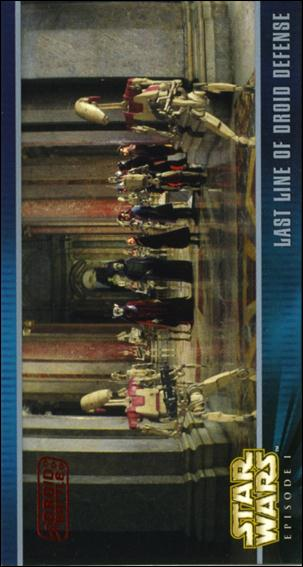 Star Wars: Episode I Widevision: Series 1 (Expansion Subset) X-39-A by Topps