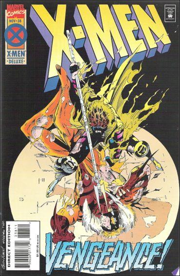 X-Men (1991) 38-A by Marvel