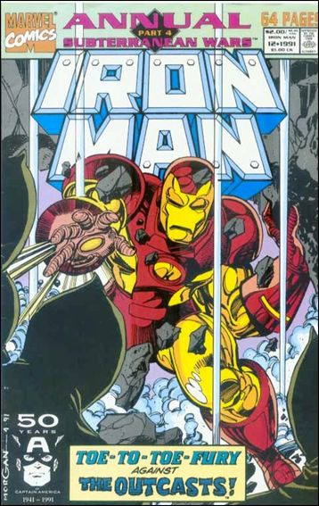 Iron Man Annual 12-A by Marvel