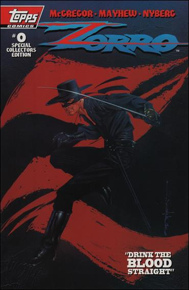 Zorro (1993) 0-B by Topps