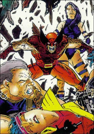 X-Men (Base Set) 13-A by Comic Images