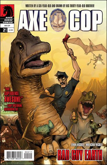 Axe Cop: Bad Guy Earth 2-A by Dark Horse