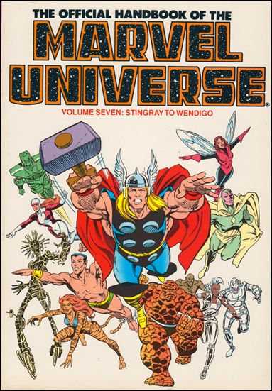 Official Handbook of the Marvel Universe 7-B by Marvel