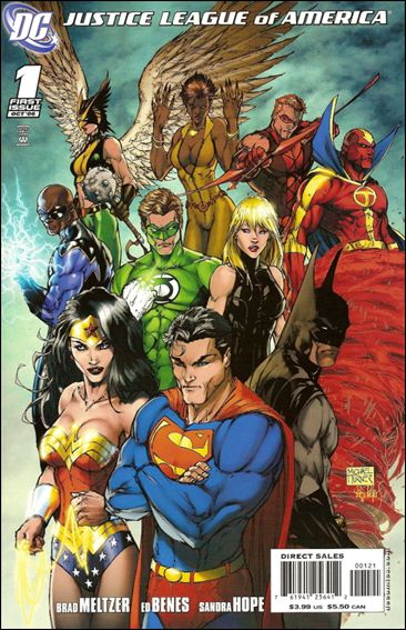 Justice League of America (2006) 1-C by DC
