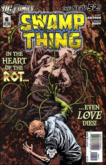 Swamp Thing (2011) 6-A by DC