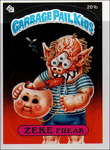 Garbage pail kids series 05 base set 201b a by topps