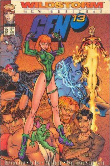 Gen13 (1995) 25-C by WildStorm